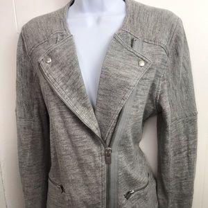 Gap Motorcycle Style Cotton Size M Jacket